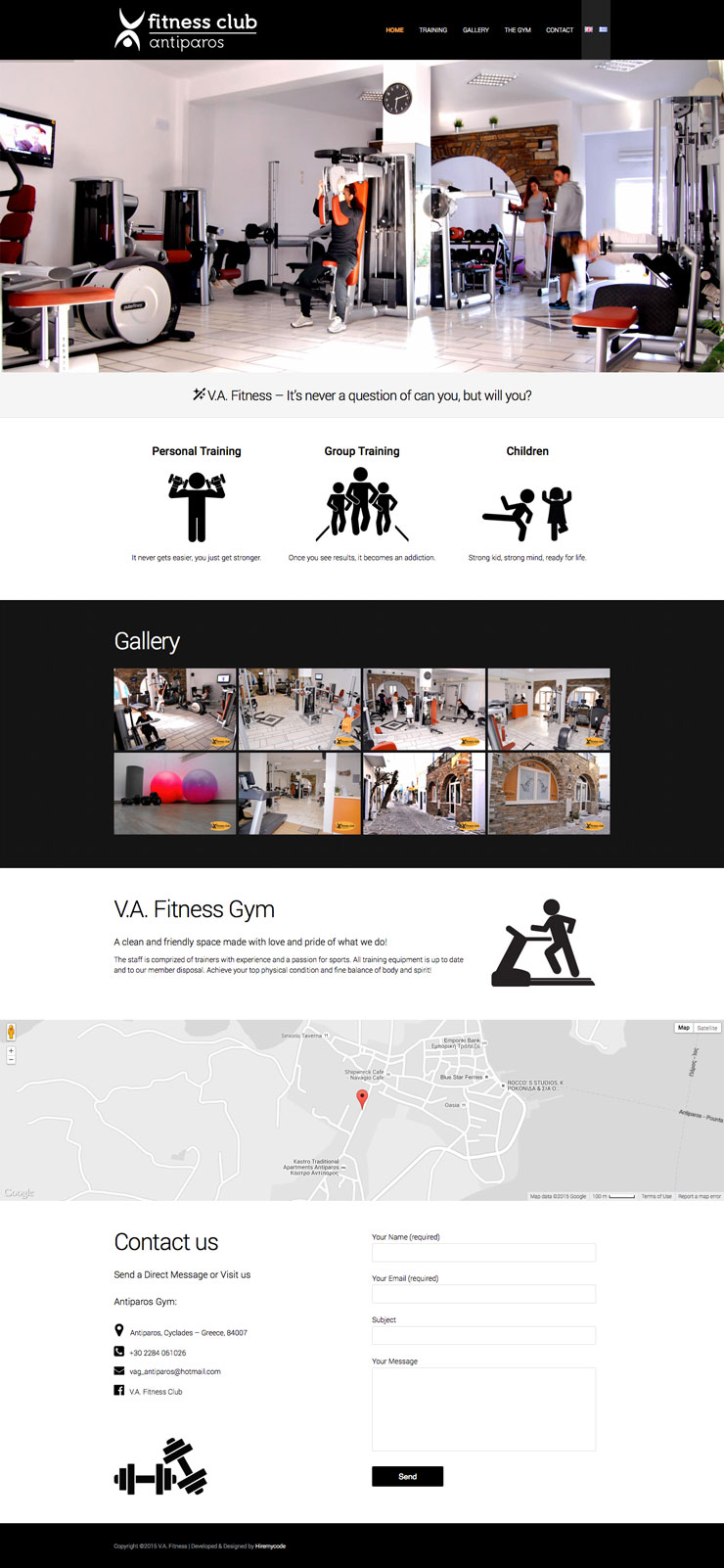 VA Fitness Club Antiparos