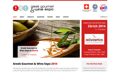 GREEK GOURMET & WINE EXPO